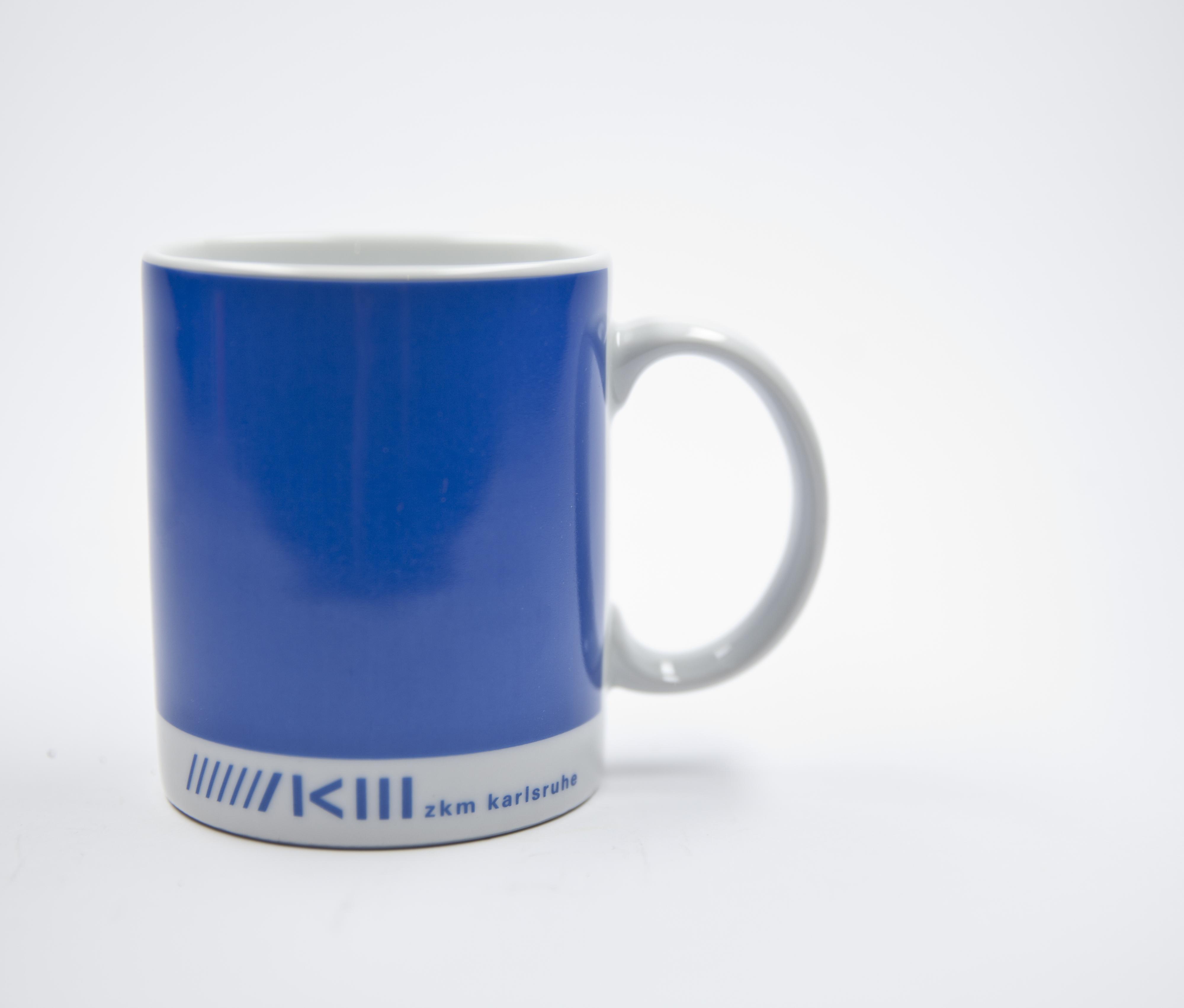 ZKM Becher - blau