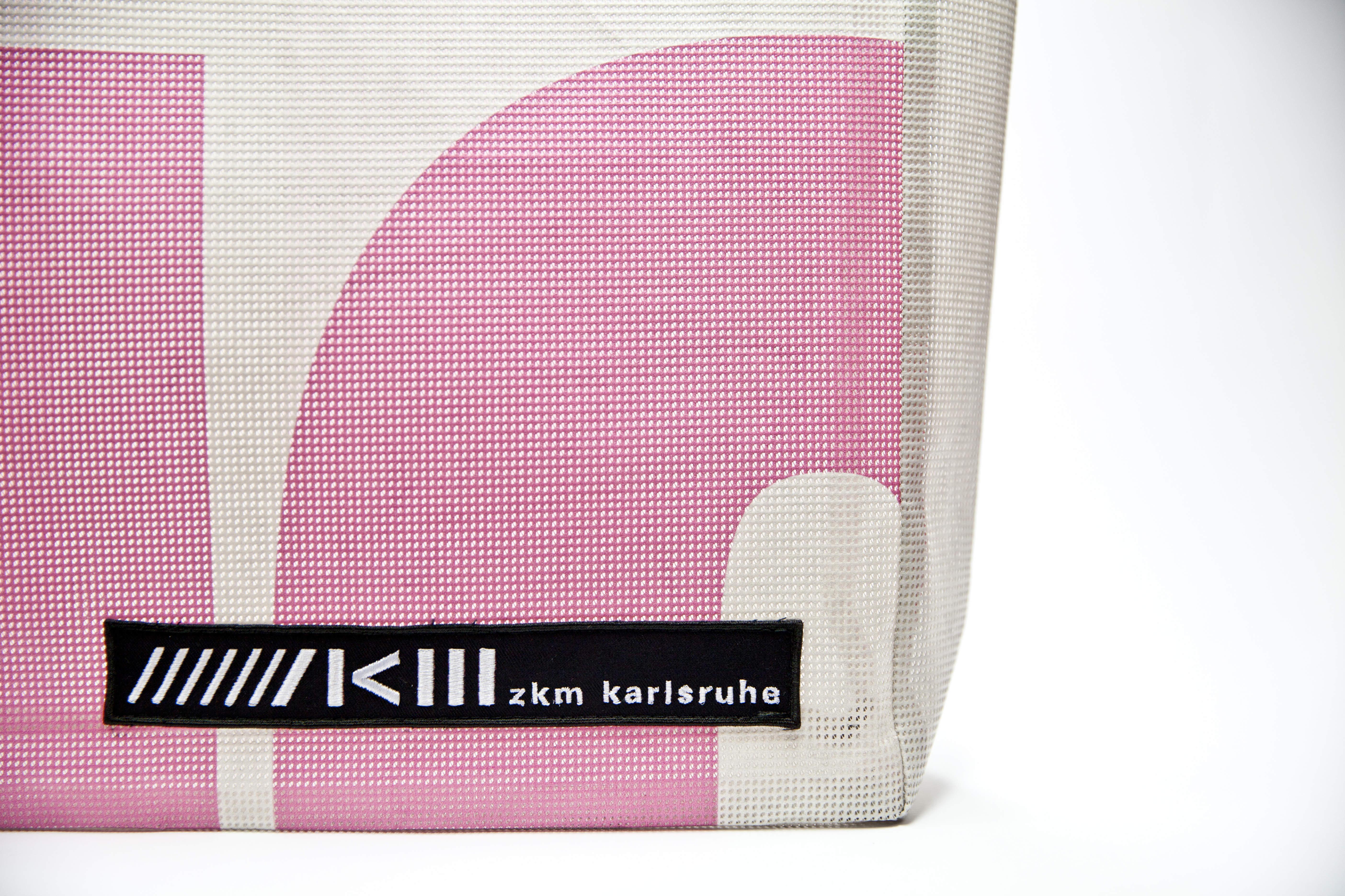 ZKM Banner Tragetasche