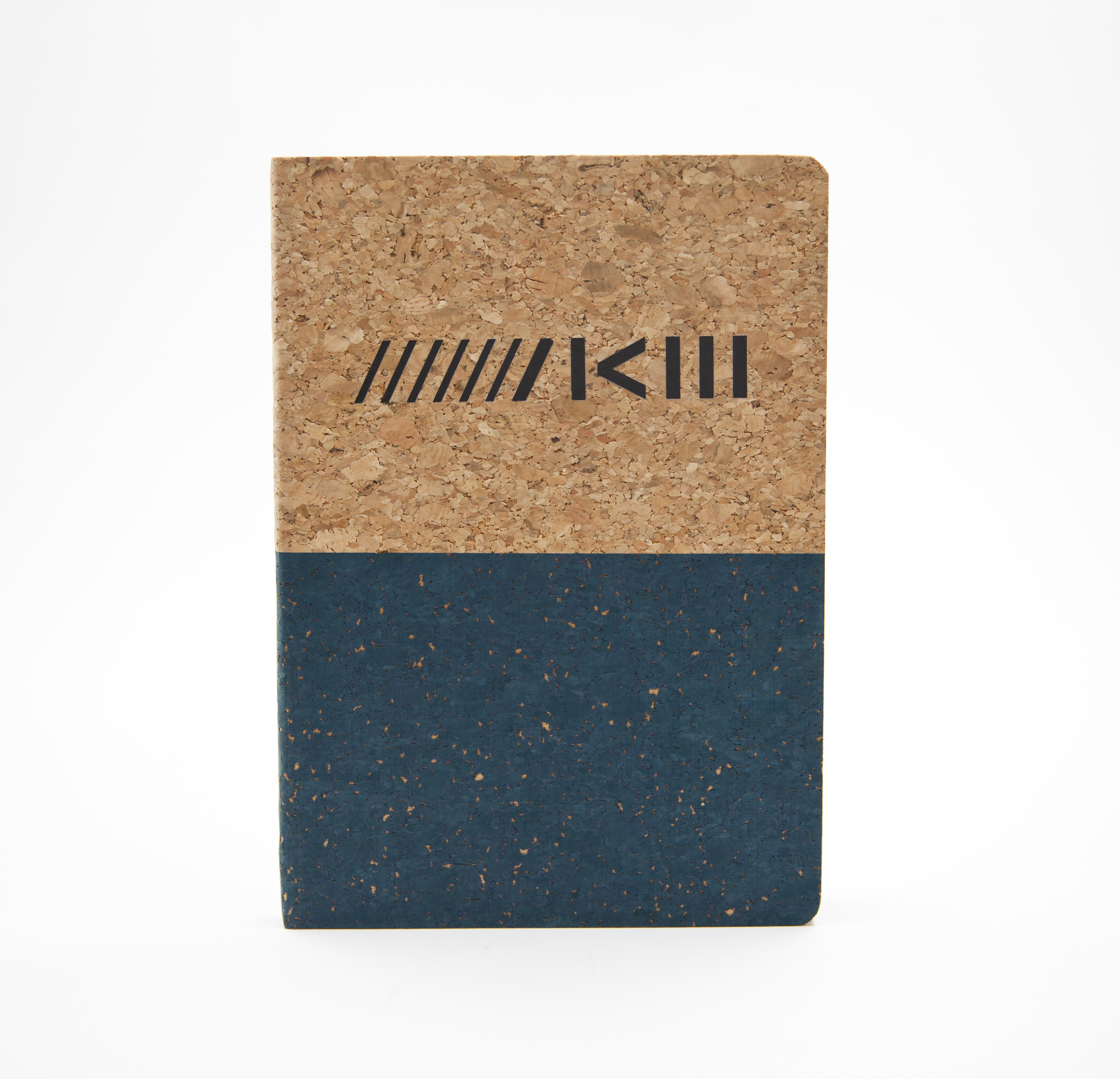 ZKM Notizbuch Kork - blau